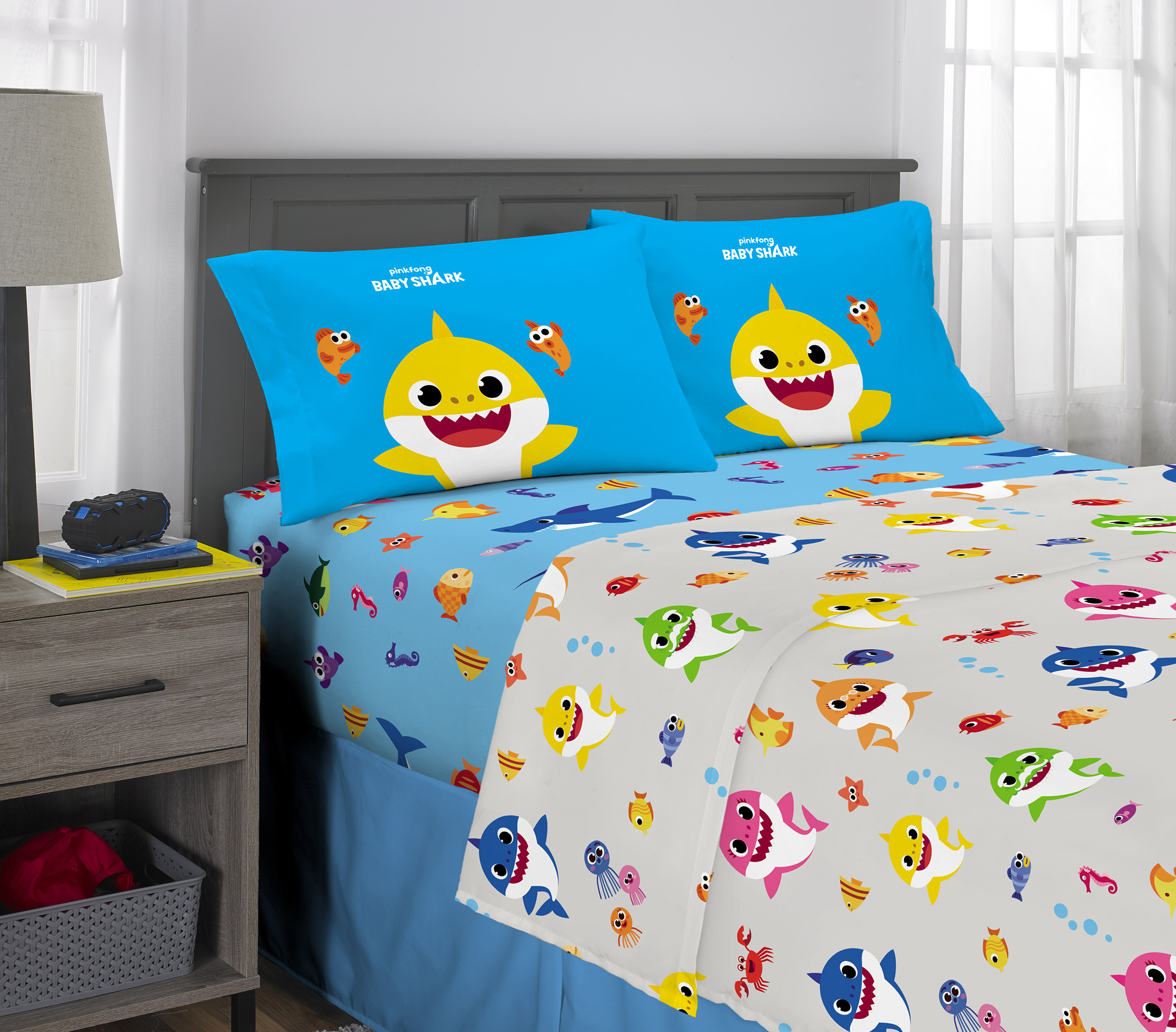 Baby Shark Bed Sheets