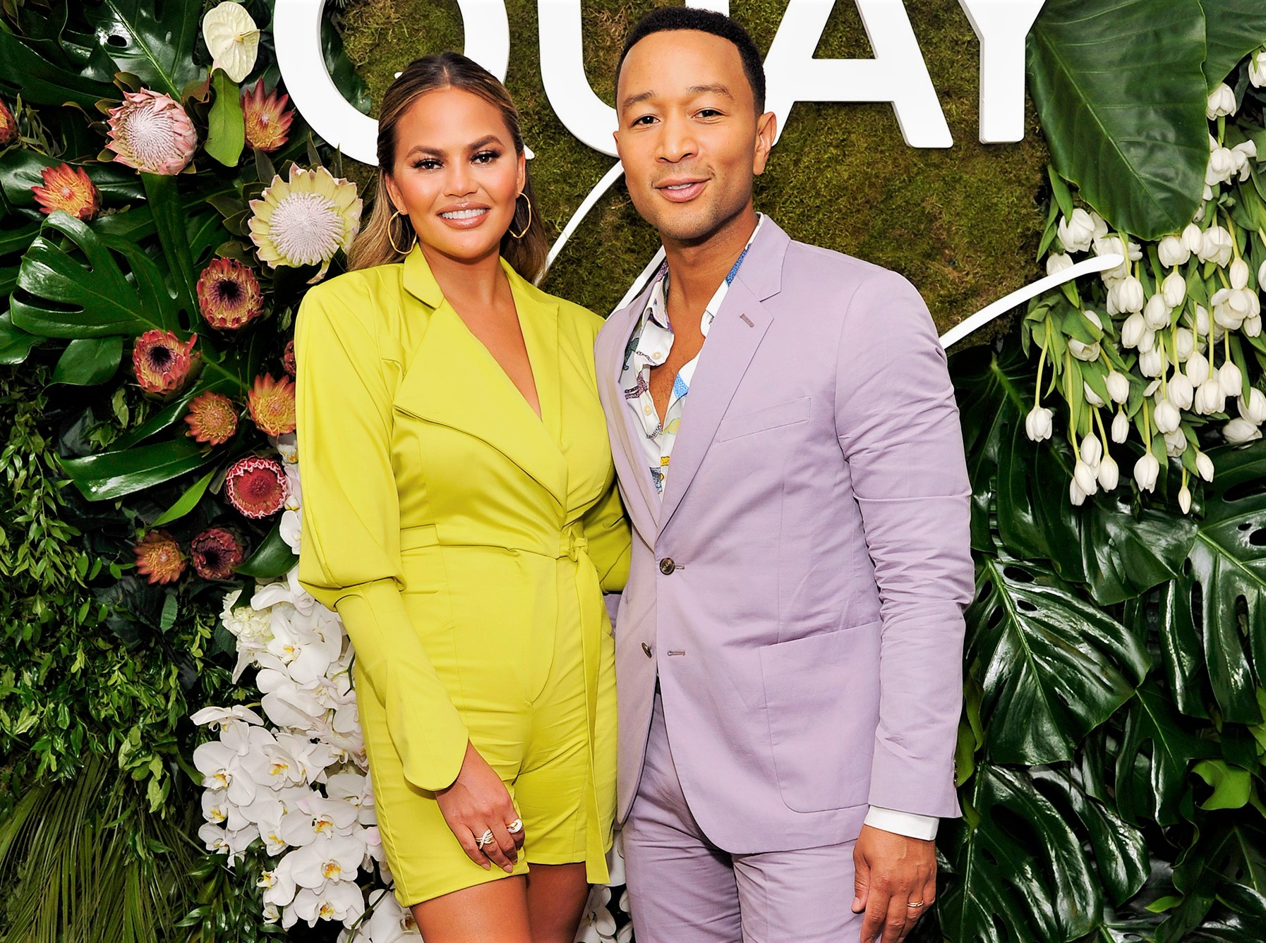 Quay x Chrissy Teigen and John Legend