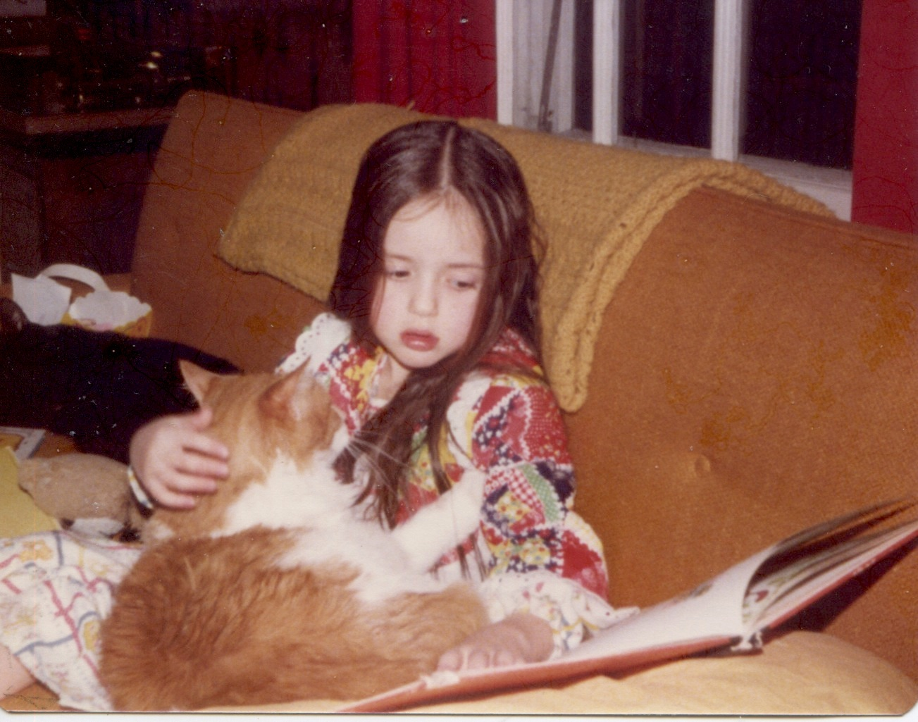Stephanie in 1979 with Marmalade