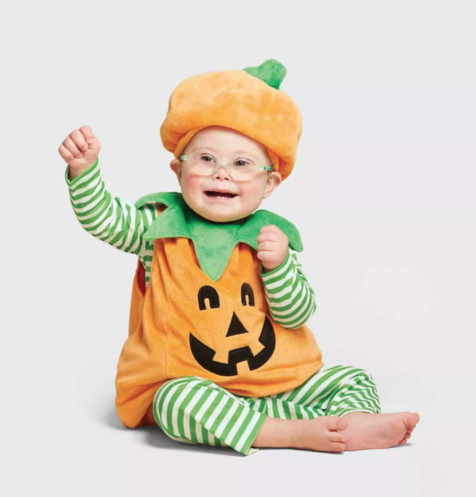 Baby Pumpkin Halloween Costume