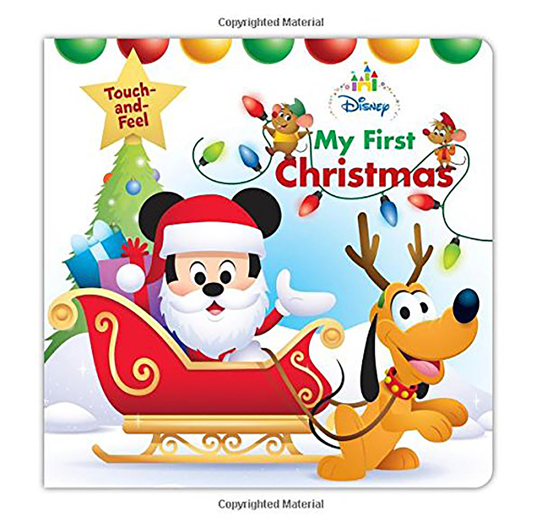 Disney My First Christmas Touch and Feel