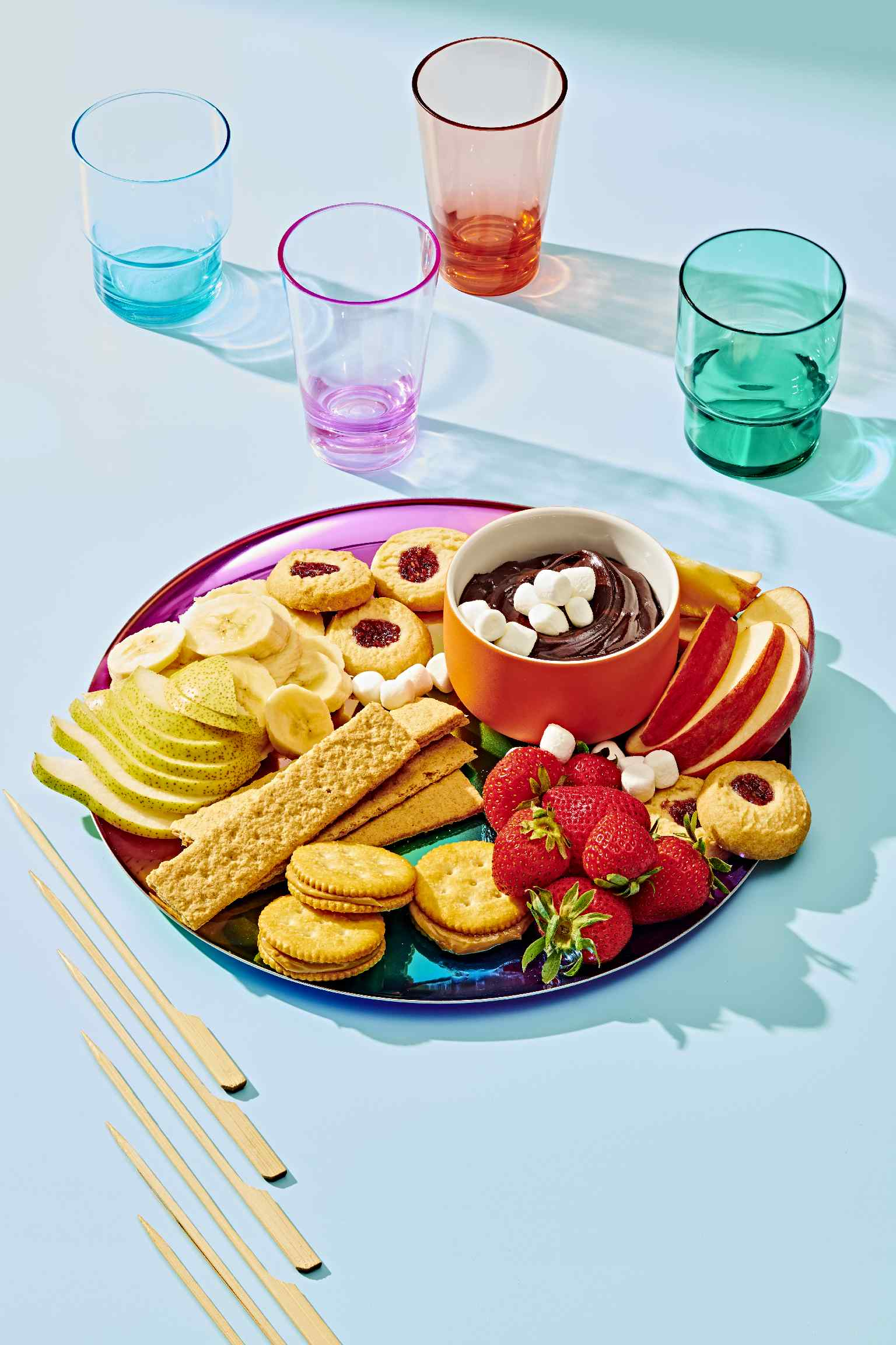 Get dipping! Kids will go crazy for this easy dessert or extra-special after-school snack.