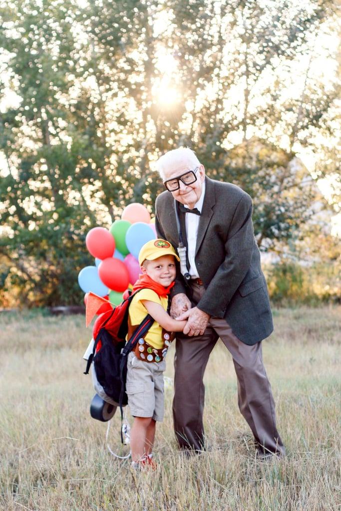 5-Year-Old & Great-Grandpa Recreated 'Up' in a Magical Balloon-Themed Photo Shoot
