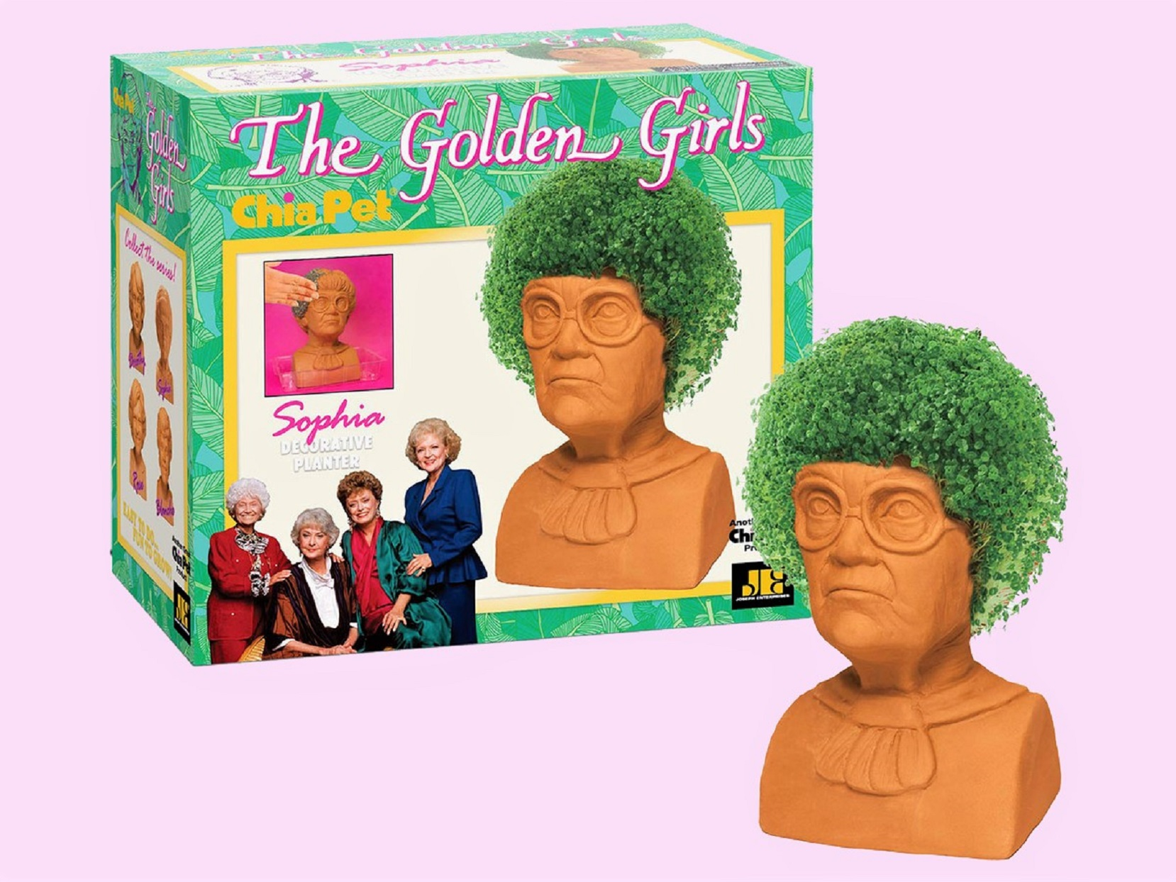 It's Settled: Everyone on Our Christmas List Is Getting a Golden Girls Chia Pet
