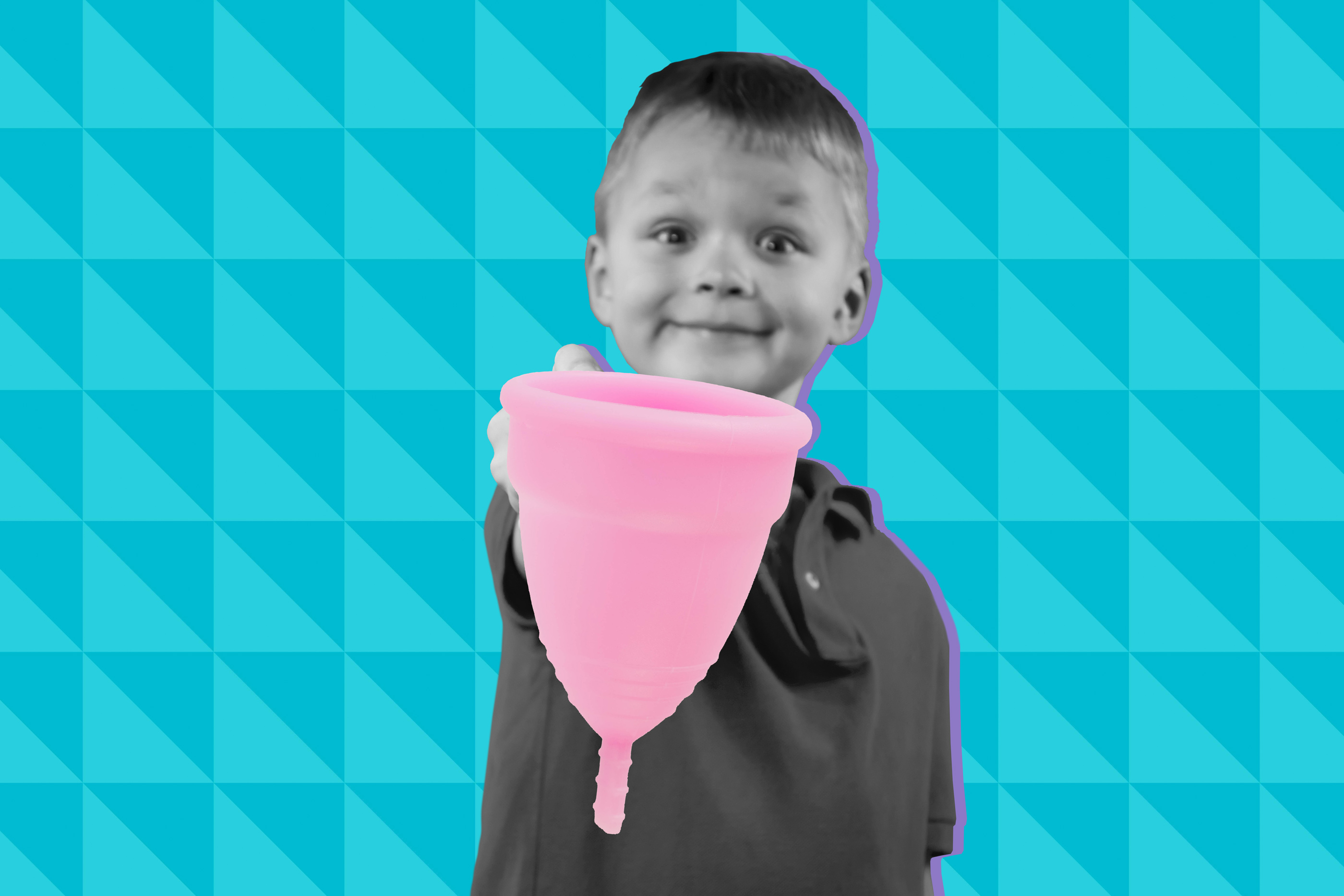 Dad Unknowingly Lets Son Bring Mom's Menstrual Cup For Show And Tell