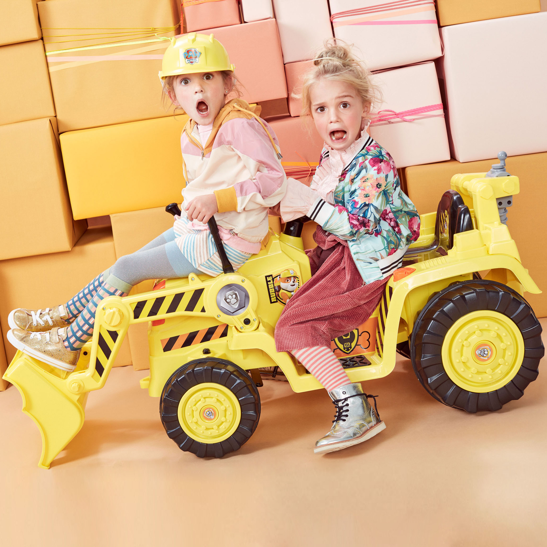 PAW Patrol Rubble's Digger from Kid Trax