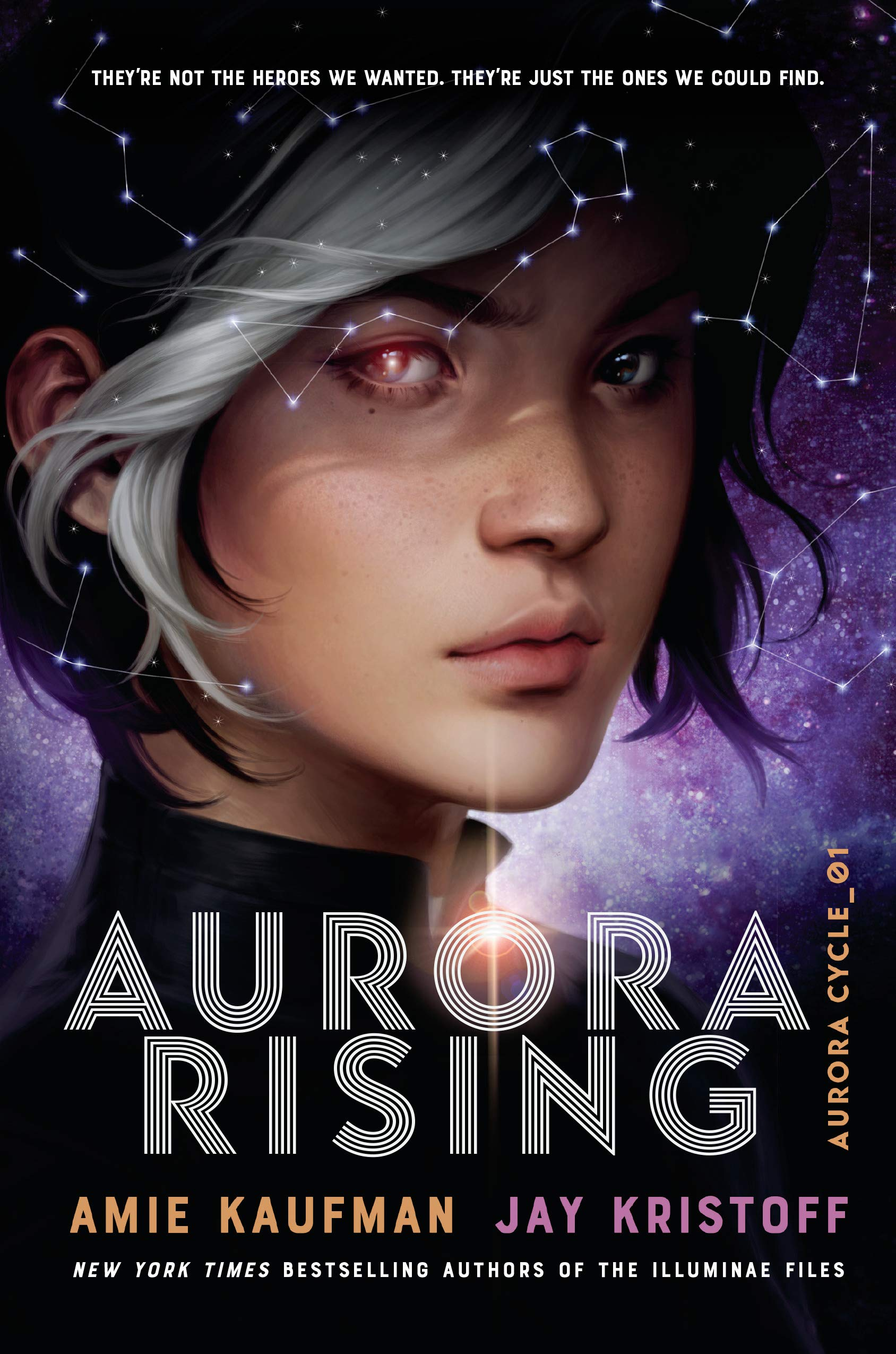 """Written by Amie Kaufman and Jay KristoffWith space travel, creatures from other planets, and cool blasters, this book reminded our teen testers of Star Wars. """"I liked that the alien species were from different cultures and we learned about how their world worked,"""" says William, an eighth grader."""
