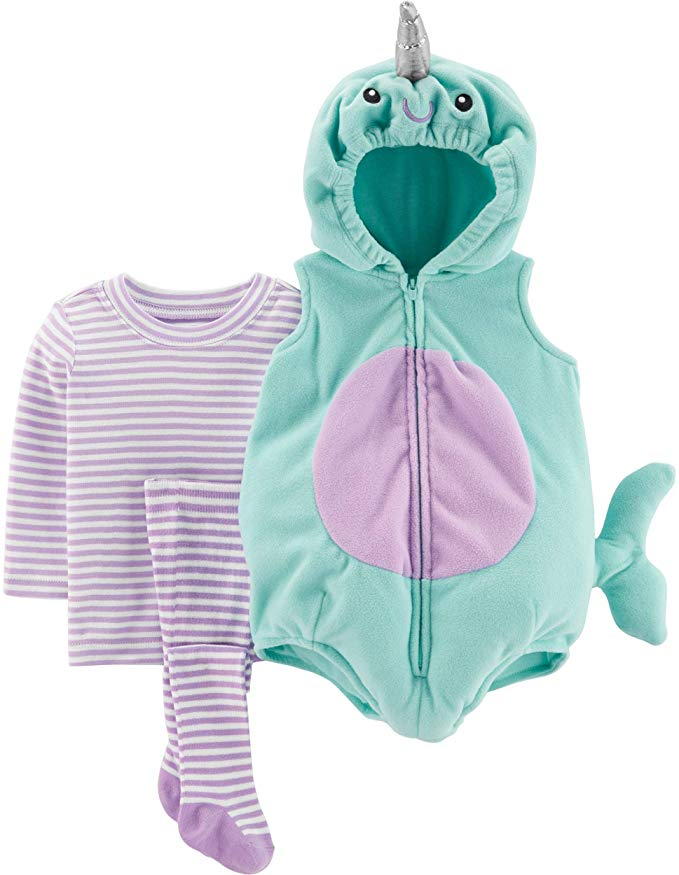 Is there anything more adorable than a pastel-hued baby unicorn? We think not. This Carter's set starts under $30, too.