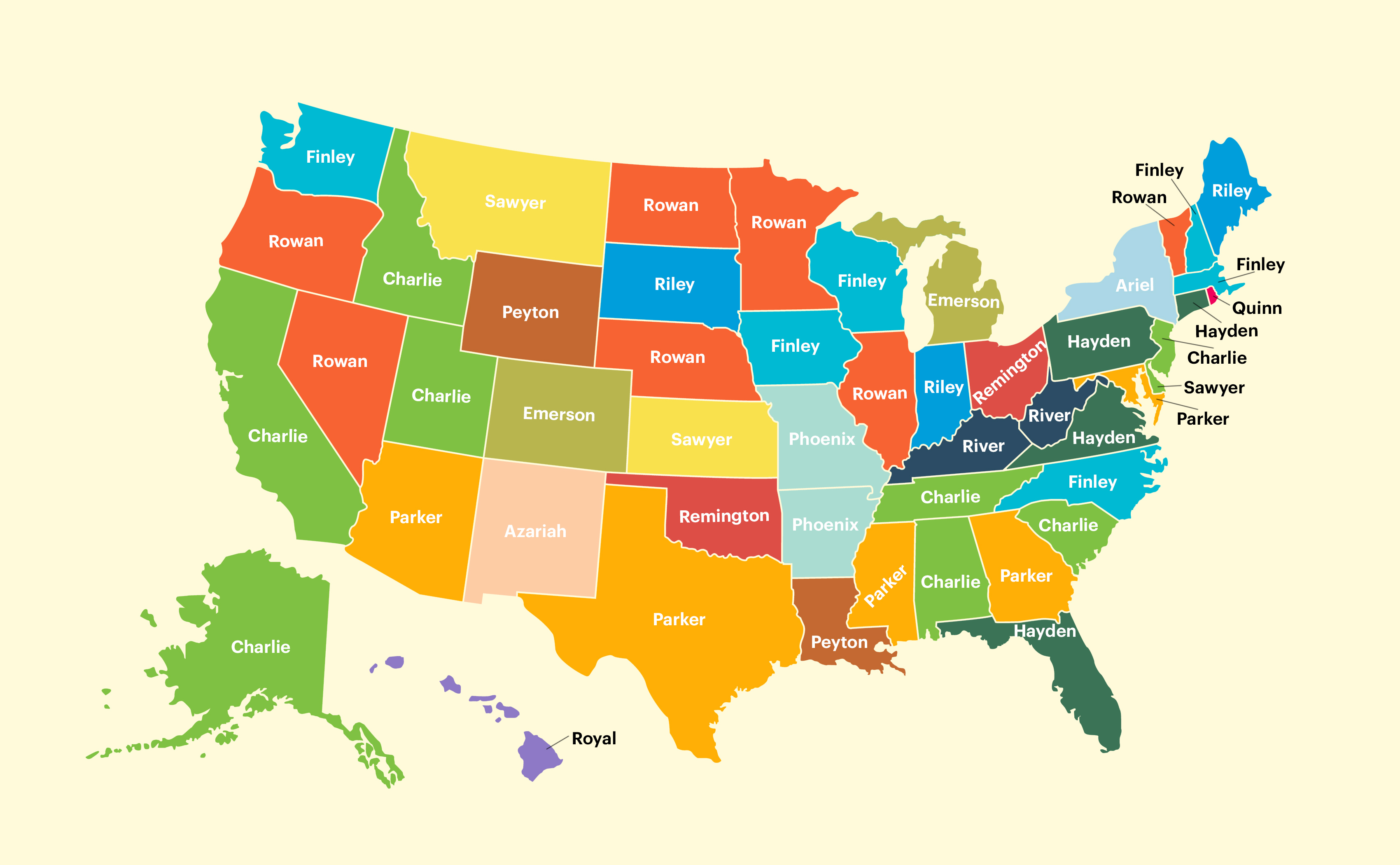 gender-neutral baby names by state