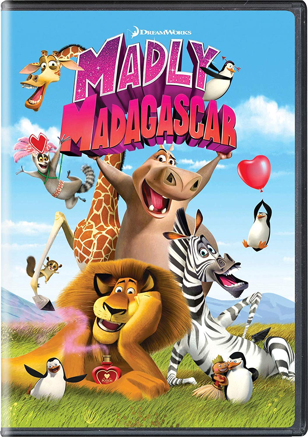 All your favorites from the Madagascar movies get together when love potion falls from the sky and high-octane adventures follow.