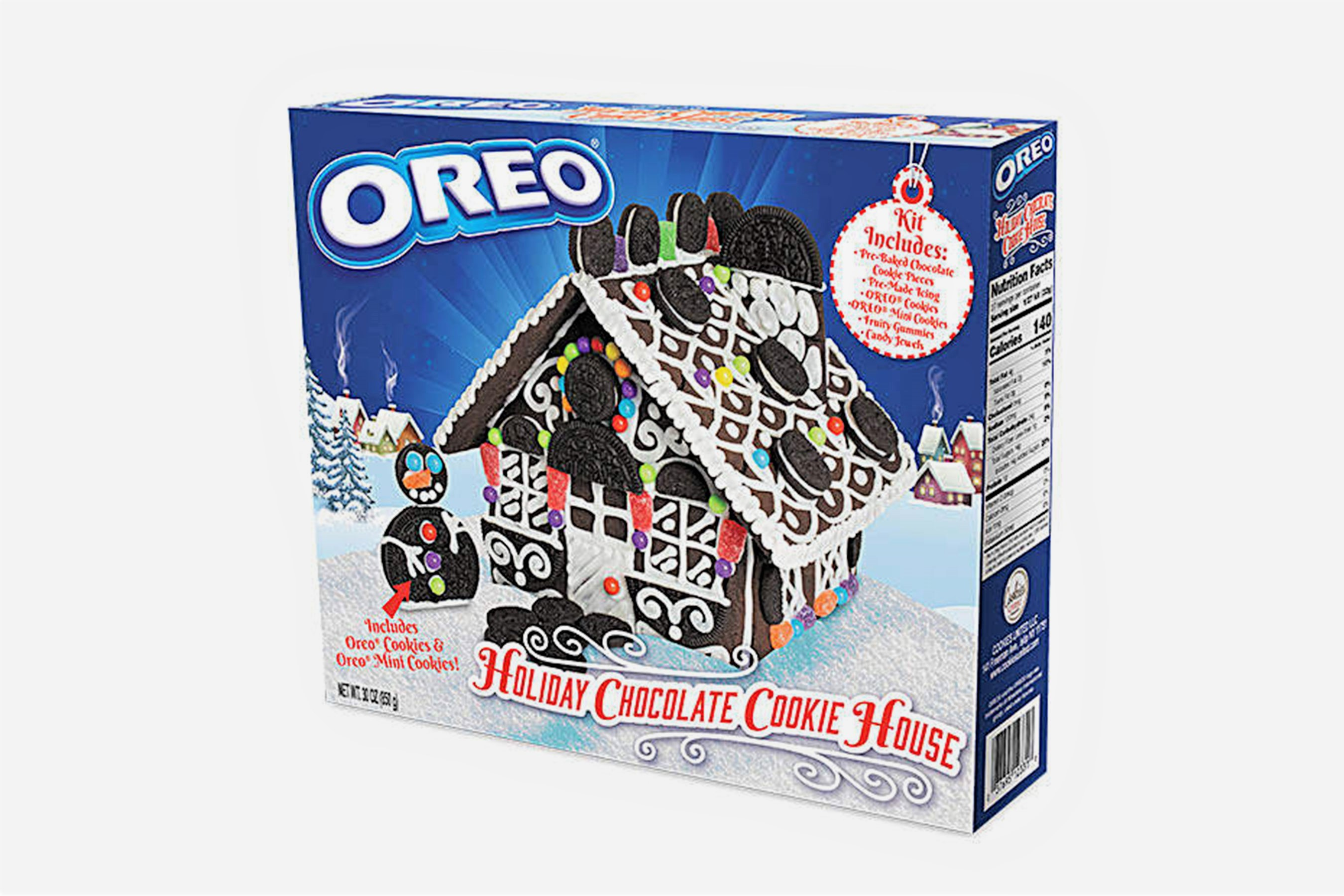Oreo Debuts Holiday Cookie House Kits That Might Just Be Better Than Gingerbread Houses