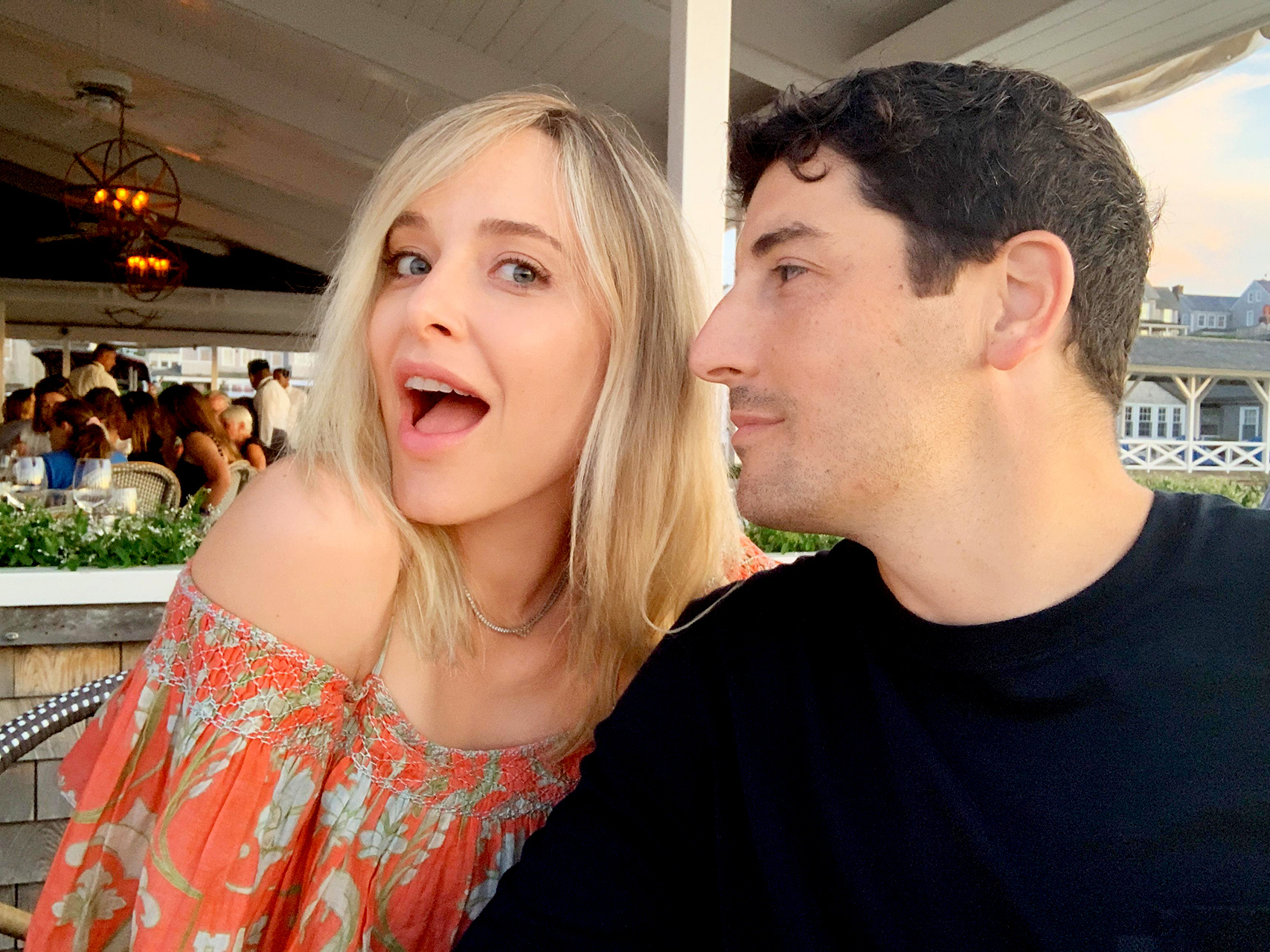 Jenny Mollen with husband
