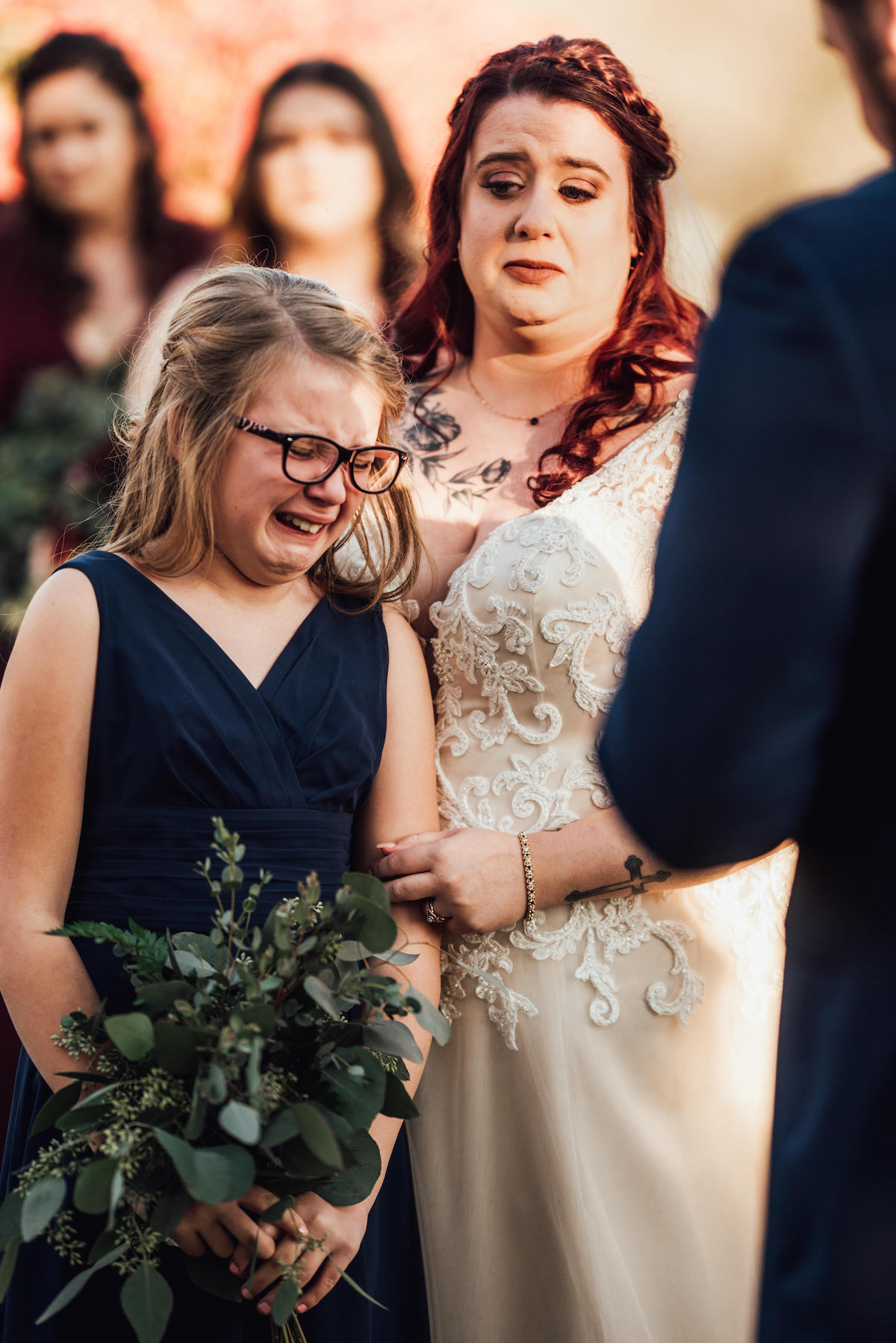 A Groom Wrote Vows for His New Stepdaughter at His Wedding & the Beautiful Moment Is Captured in Moving Photos