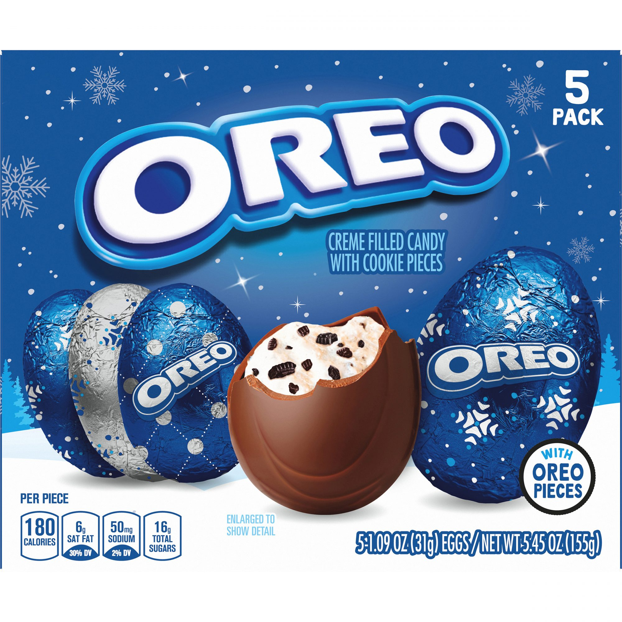 Oreo Just Released Festive Creme-Filled Eggs and We Want Them In Our Stockings Now