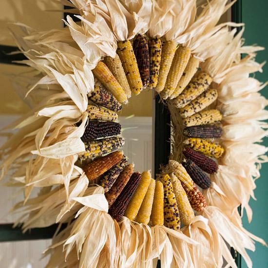 Sunburst wreath