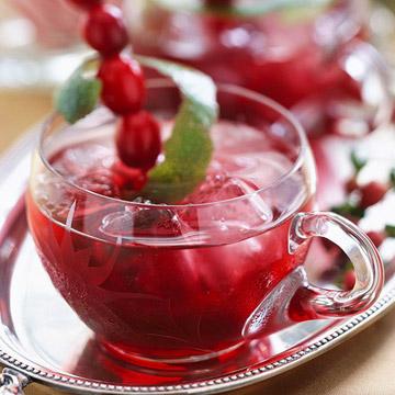 Spirited Cranberry-Rum Punch