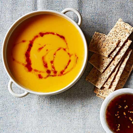 Maple-Chile Butternut Soup