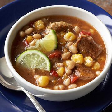 Hominy-Pork Stew