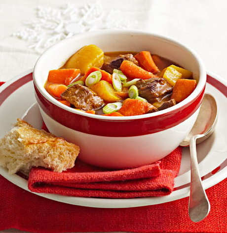 Fireside Beef Stew with Root Vegetables