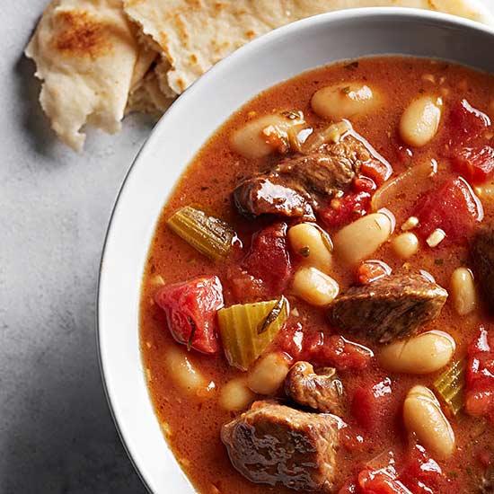 Tuscan Lamb and White Bean Stew
