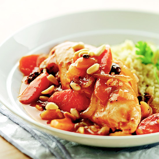 Slow-Cooker Moroccan Chicken Stew