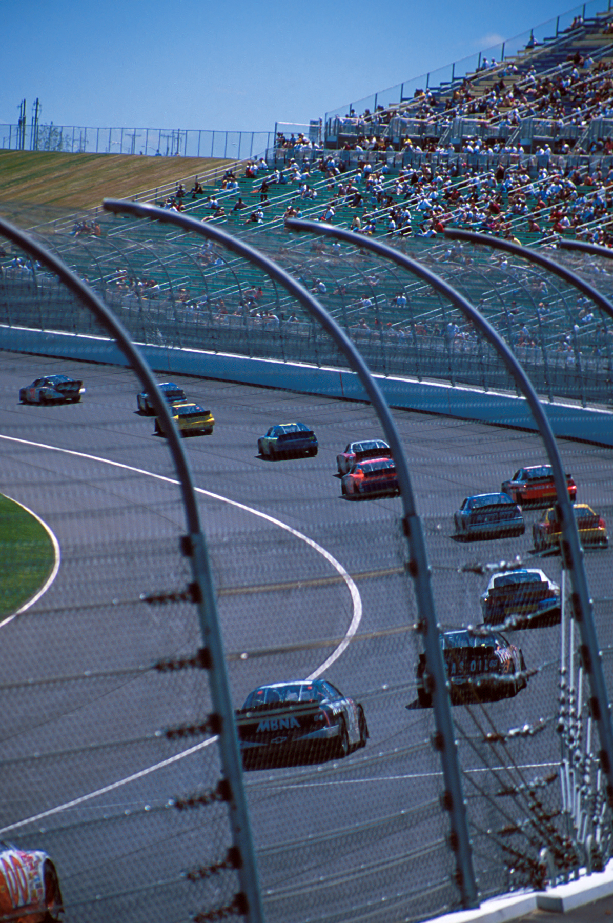 NASCAR visits the track in the spring and fall. Photo courtesy VisitKC