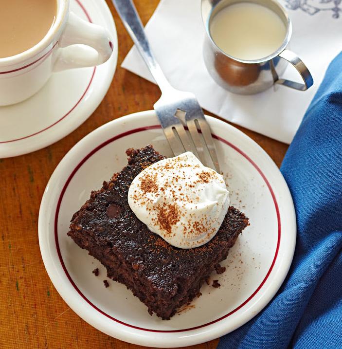 Janice's Chocolate Oatmeal Cake