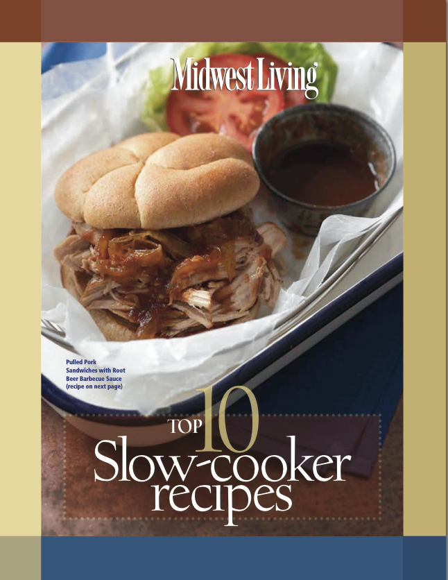 Top 10 Slow-Cooker Recipes Cookbook