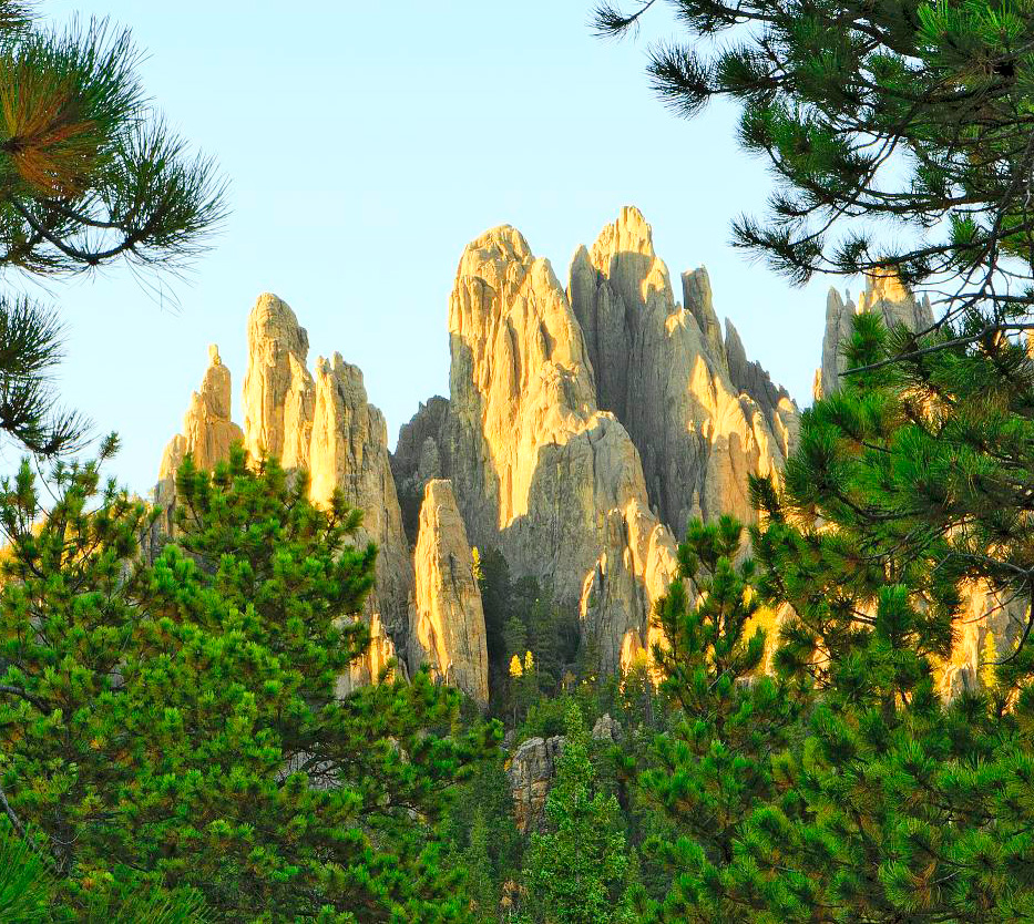 Custer State Park needles formations