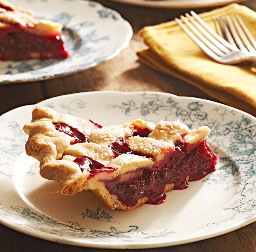 Michigan Tart Cherry Pie