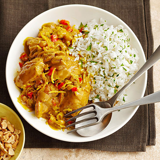 Slow-Cooker Curried Chicken