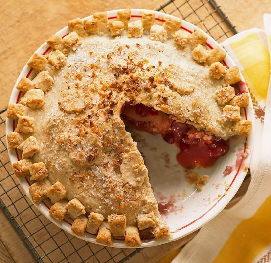 Apple-Cranberry Walnut Pie