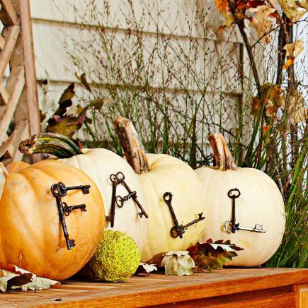 Keyed pumpkins