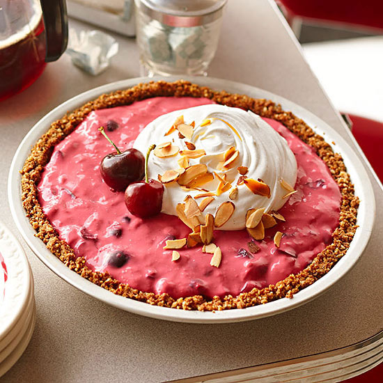 Cherry Phosphate Icebox Pie