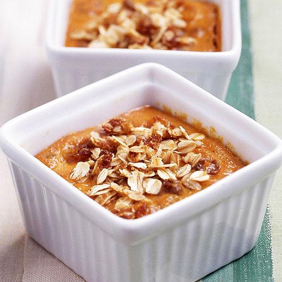 Pumpkin-Bourbon Pudding