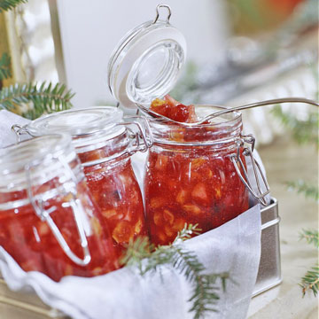 Crimson Cranberry Chutney