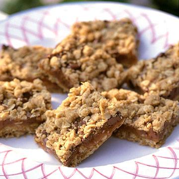 Caramel Blonde Brownies