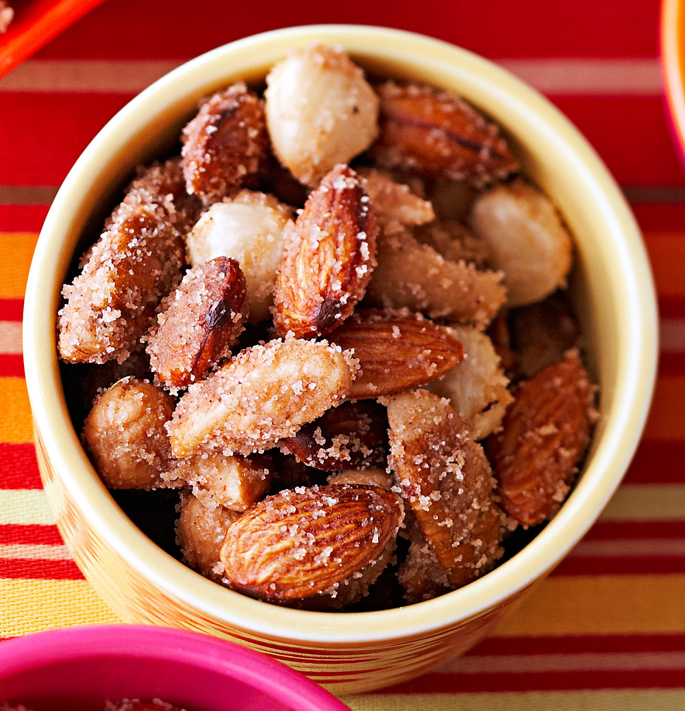 Slow Cooker Sweet-Hot Nuts
