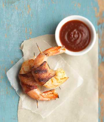 Willis Family Bacon-Wrapped Shrimp