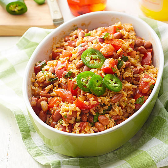 Rice and Red Bean Salad