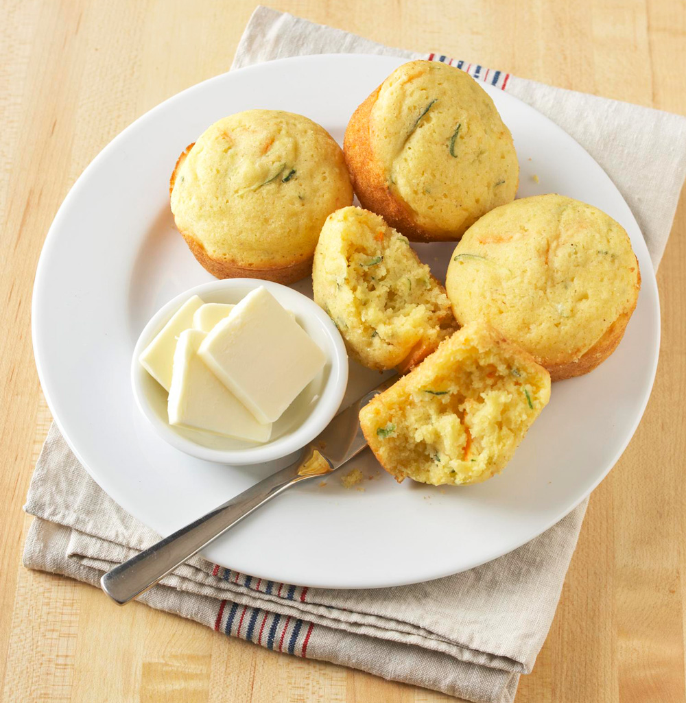 Zucchini Confetti Muffins