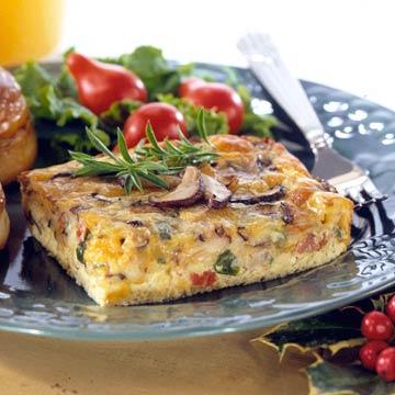 Mushroom and Egg Casserole