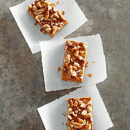 Butterscotch Pretzel Bars