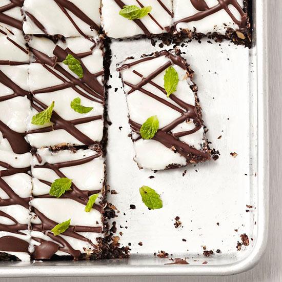 Dark Chocolate Mint Bars
