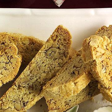 Lemon-Walnut Biscotti