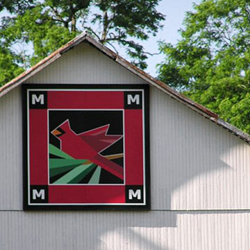 11 Barn Quilt Trails To Explore Midwest Living Printable barn quilt wall banners   delightfully noted. 11 barn quilt trails to explore