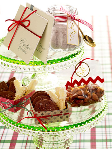 Cookie and nut sampler