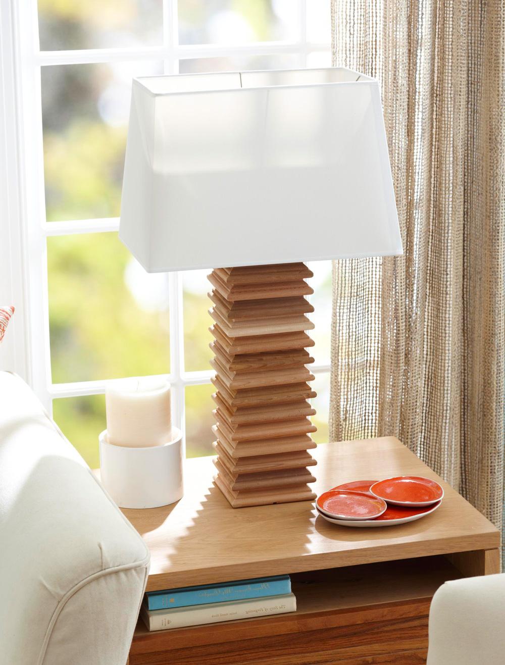 Post cap lamp