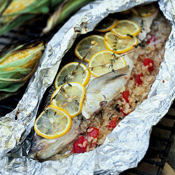 Grilled Whole Whitefish