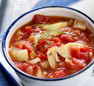 Ohio: Red Tomato-Garlic Soup